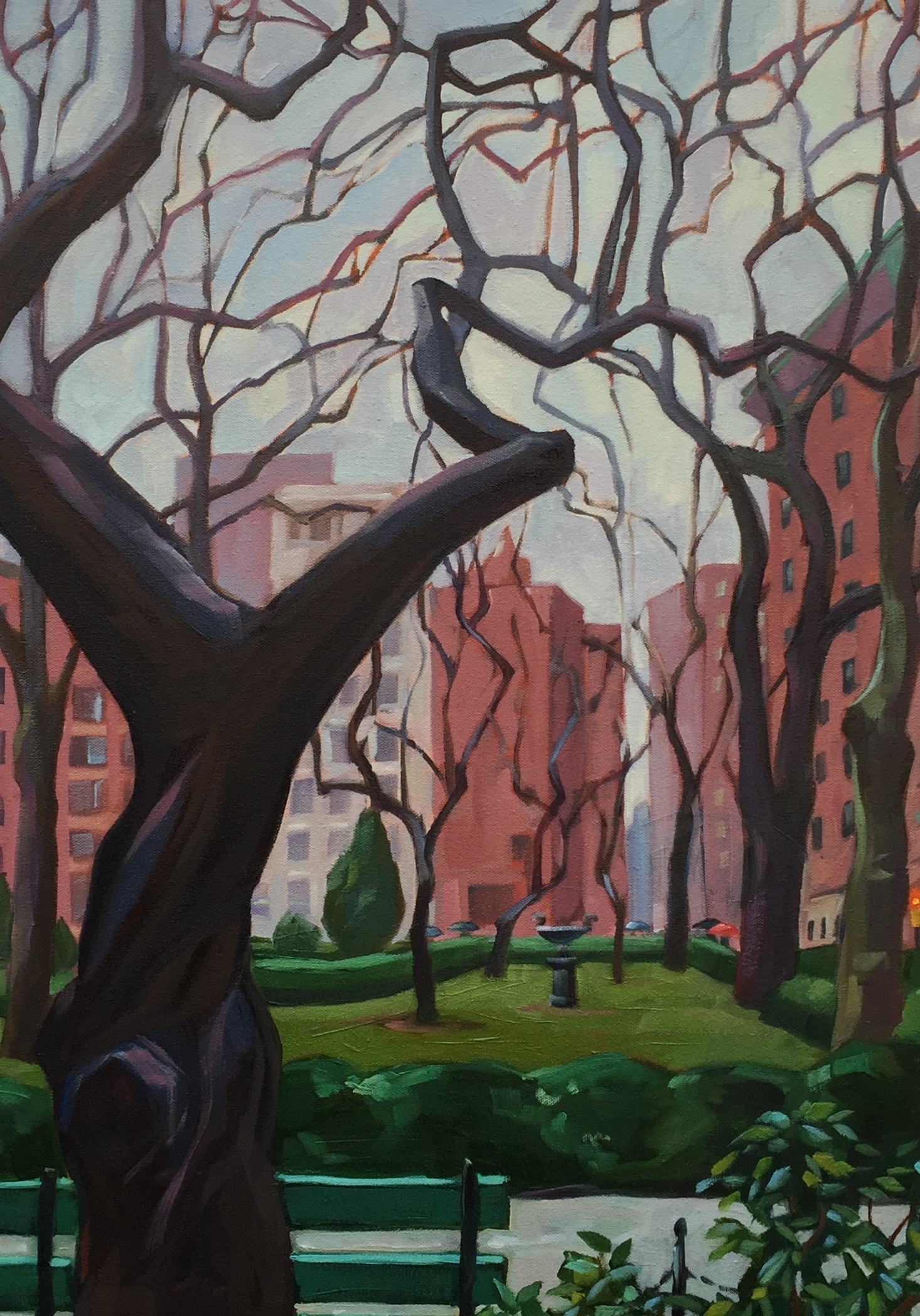 January Branches in Gramercy Park