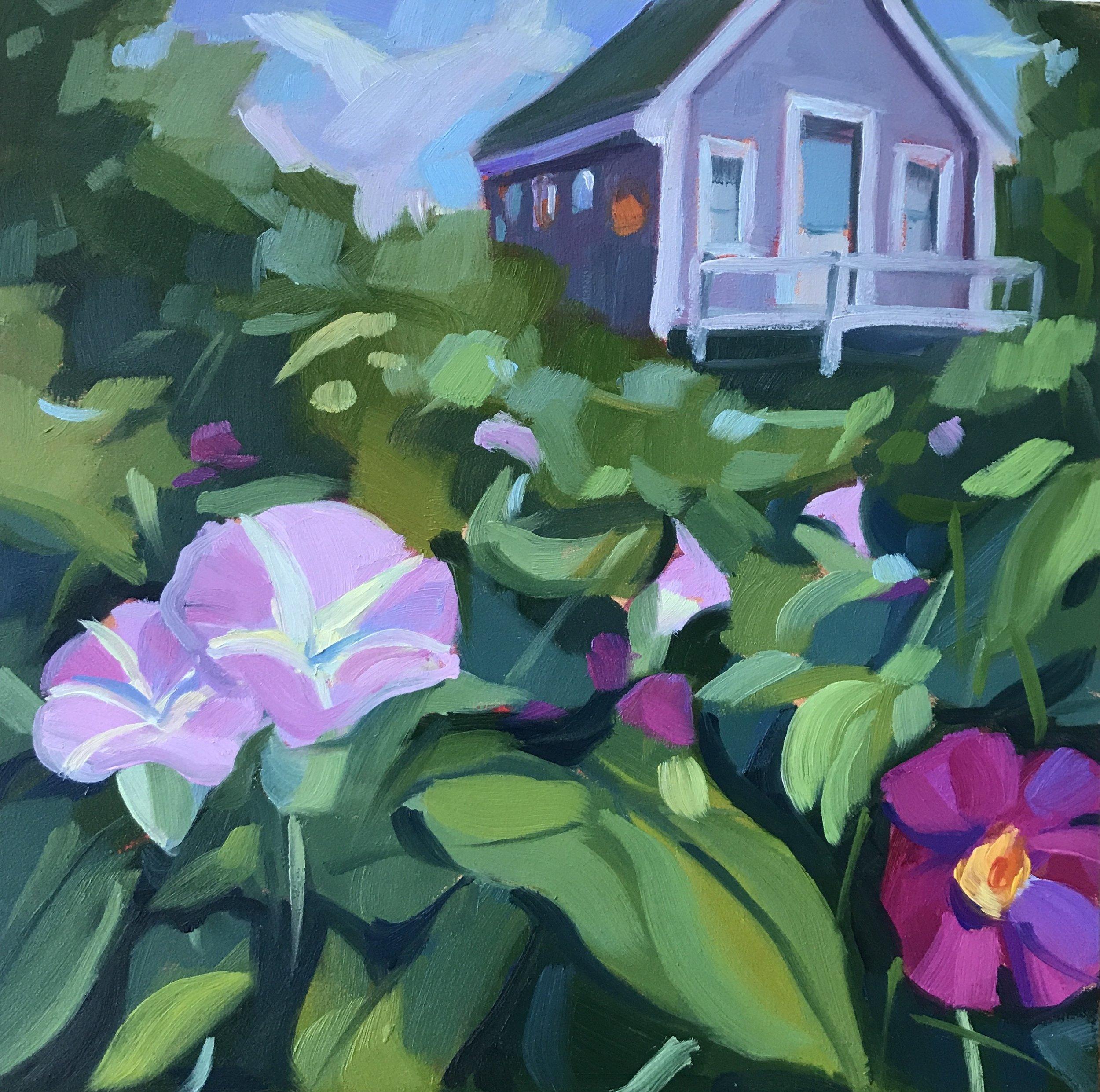 Cottage Garden, Monhegan Island