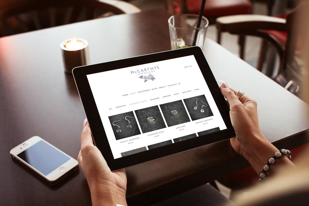 McCarthy Jewellers Bad Dog e Commerce Website