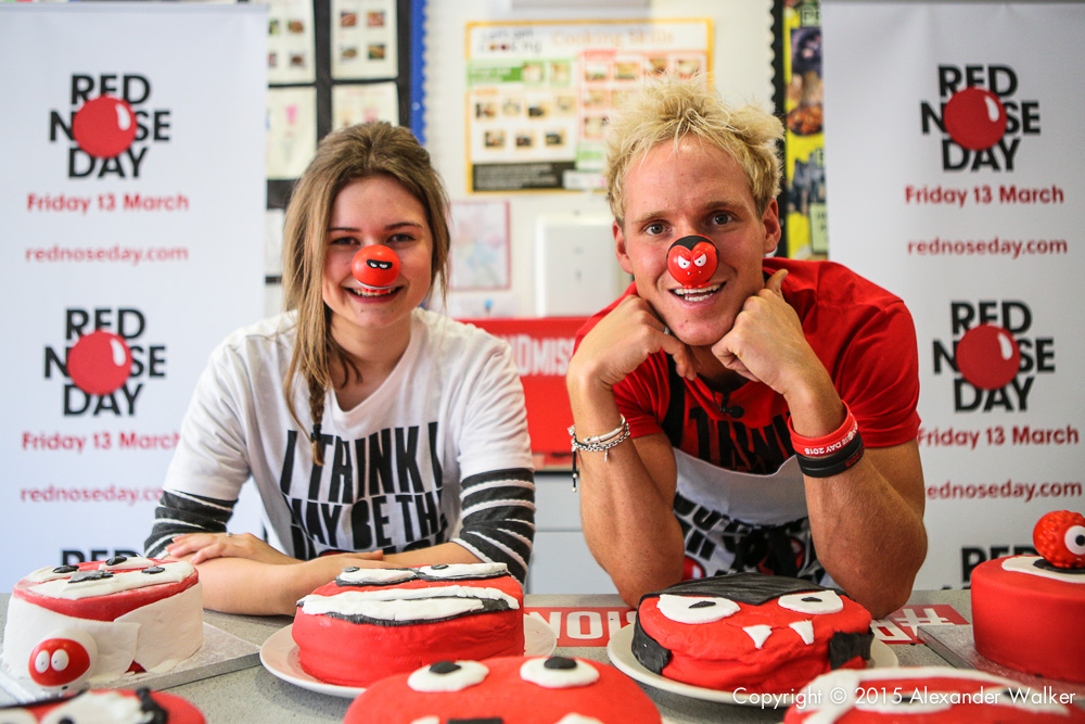 Jamie Laing is on a mission to inspire people to fundraise for Red Nose Day on Friday 13th March 2015.