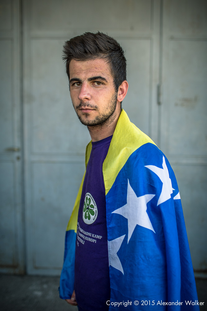 Bosnia Homeless World Cup team Training Srebrenica