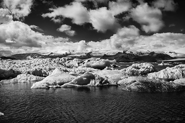 Jökulsárlón glacial lagoon - Iceland • • • • • • #visiticeland #iceberg #landscapelovers #jokulsarlon #bnw_society #bw_lover #fineart_photobw #blacknwhite #bnwsouls #bnwmood #bnw_life #glacier #bw_perfect #bnw_captures #mycanon #calming #nature #explore #instadaily #photojournalist #picoftheday #lifestyle #clarity #adventure #drama #adventure #outdoors #hiking #giant #mystopover