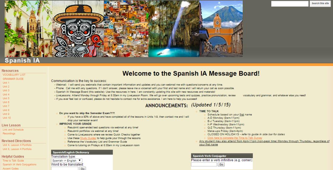 standard message board