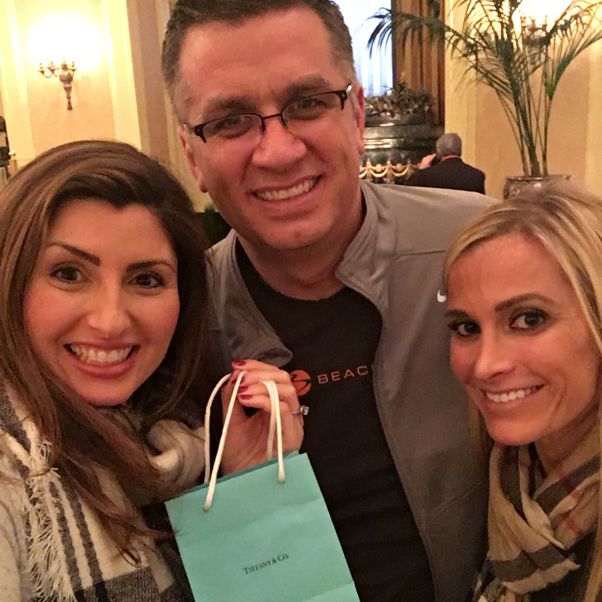 received a tiffany necklace for becoming a 1 star diamond coach and had a private meeting with the sr. director of field development
