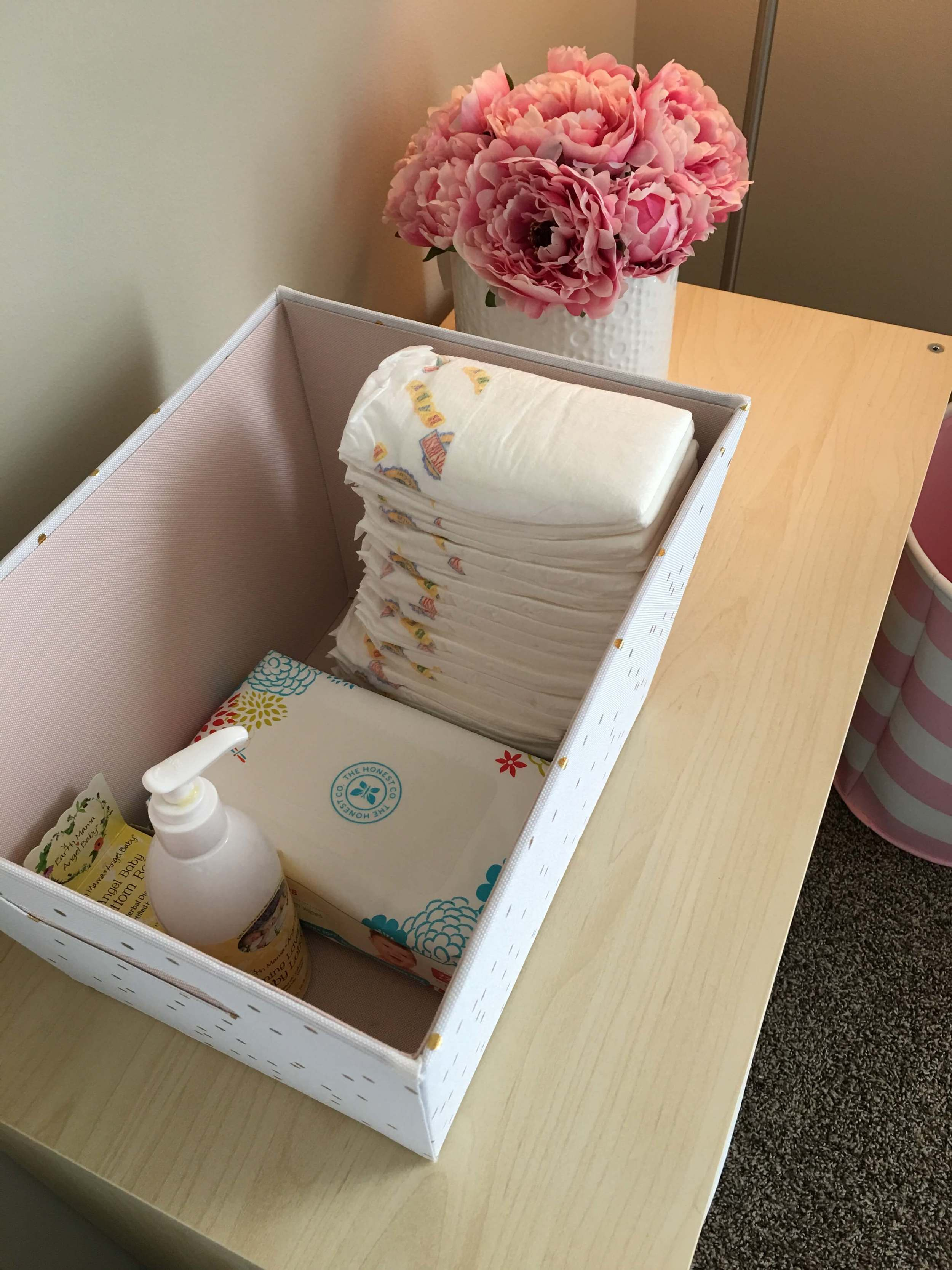 Diaper supplies