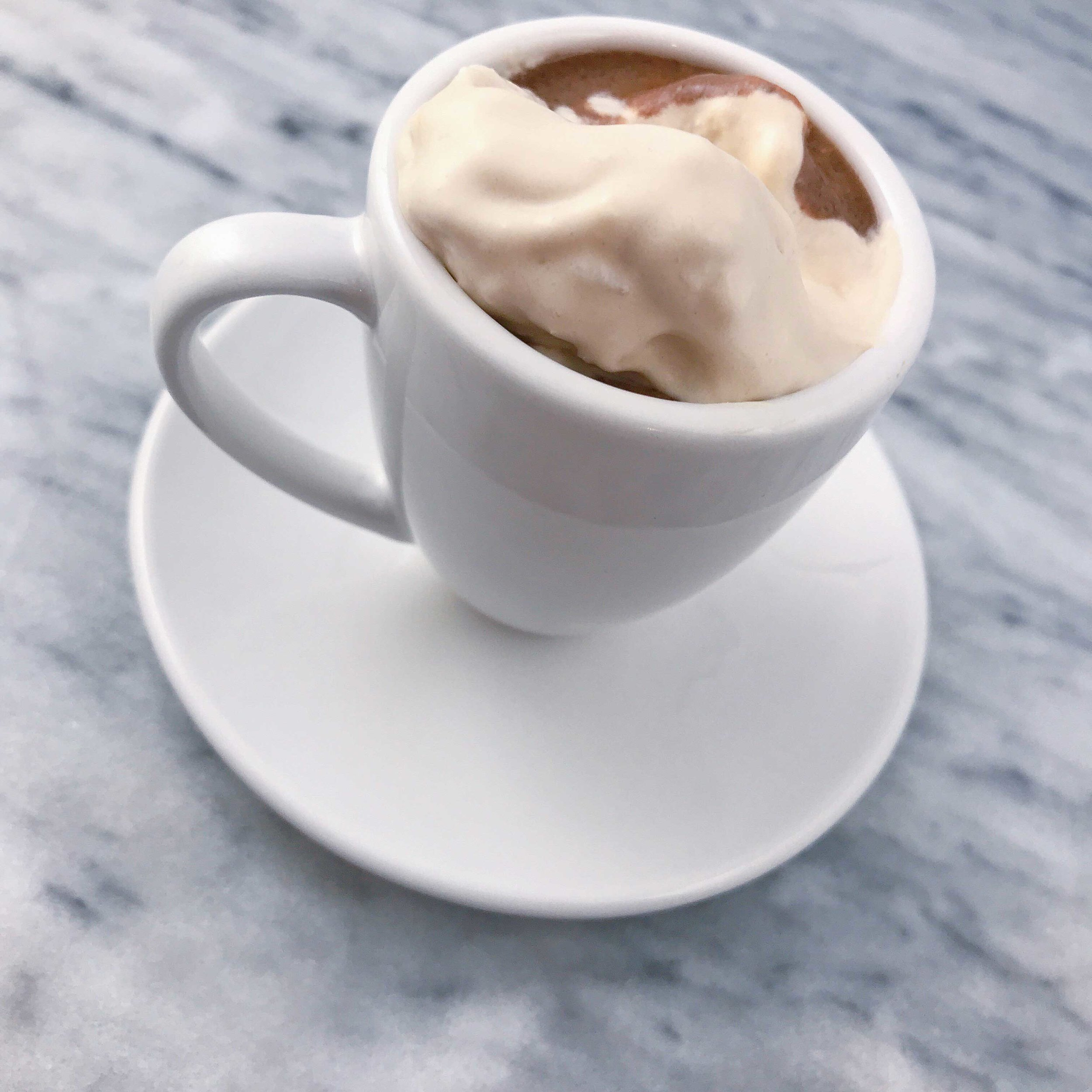 toddler-sized hot chocolate
