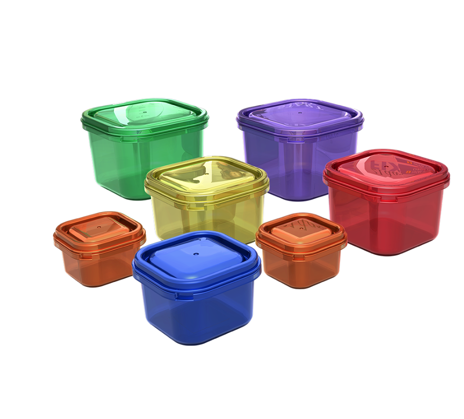 Colored Containers for Food $9.95 USD, $11.95 CAD, £9.95 GBP
