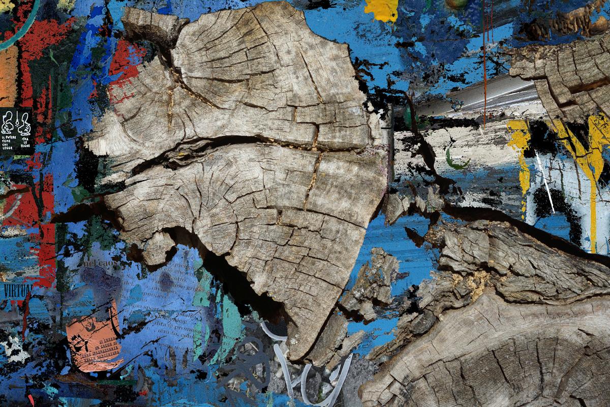 """Feeling blue"" - 80 cm x 120 cm"