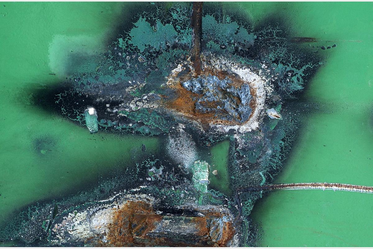 Picasso's welder - 80 cm x 120 cm