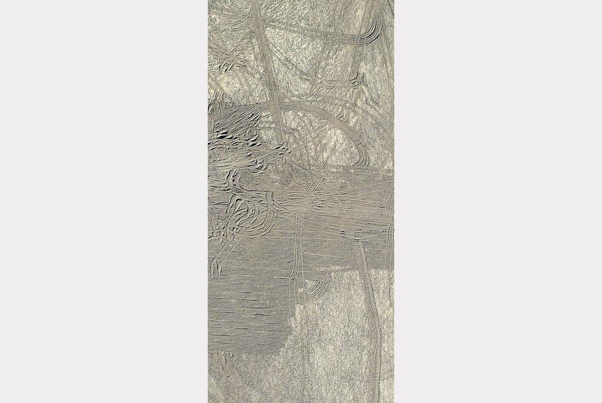 """Moon river"" - 130 cm x 60 cm"