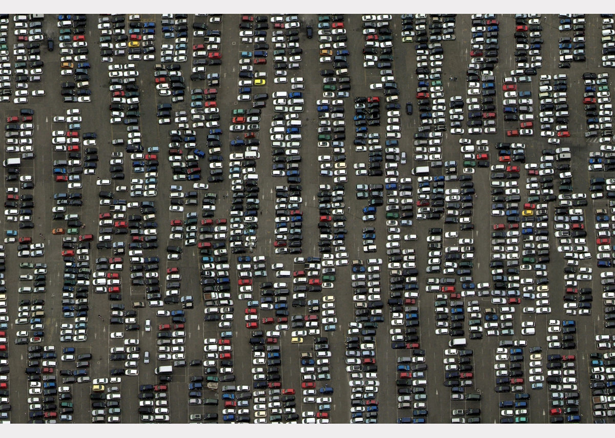 """Where did I leave the car?"" - 85 cm x 130 cm"