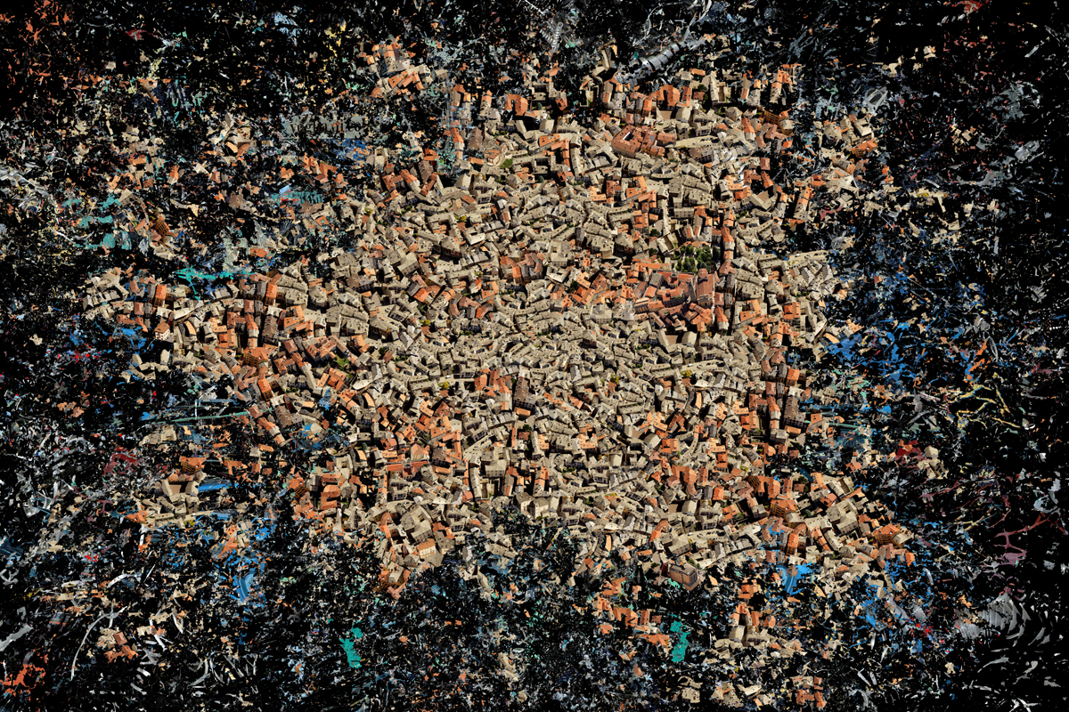 """Planet Earth"" - 100 cm x 150 cm"