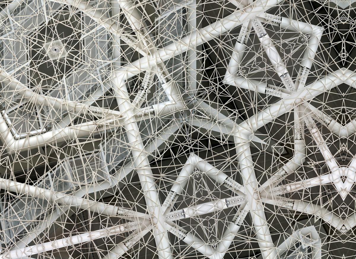 """""""Dynamics of architecture"""" - 73 cm x 100 cm"""