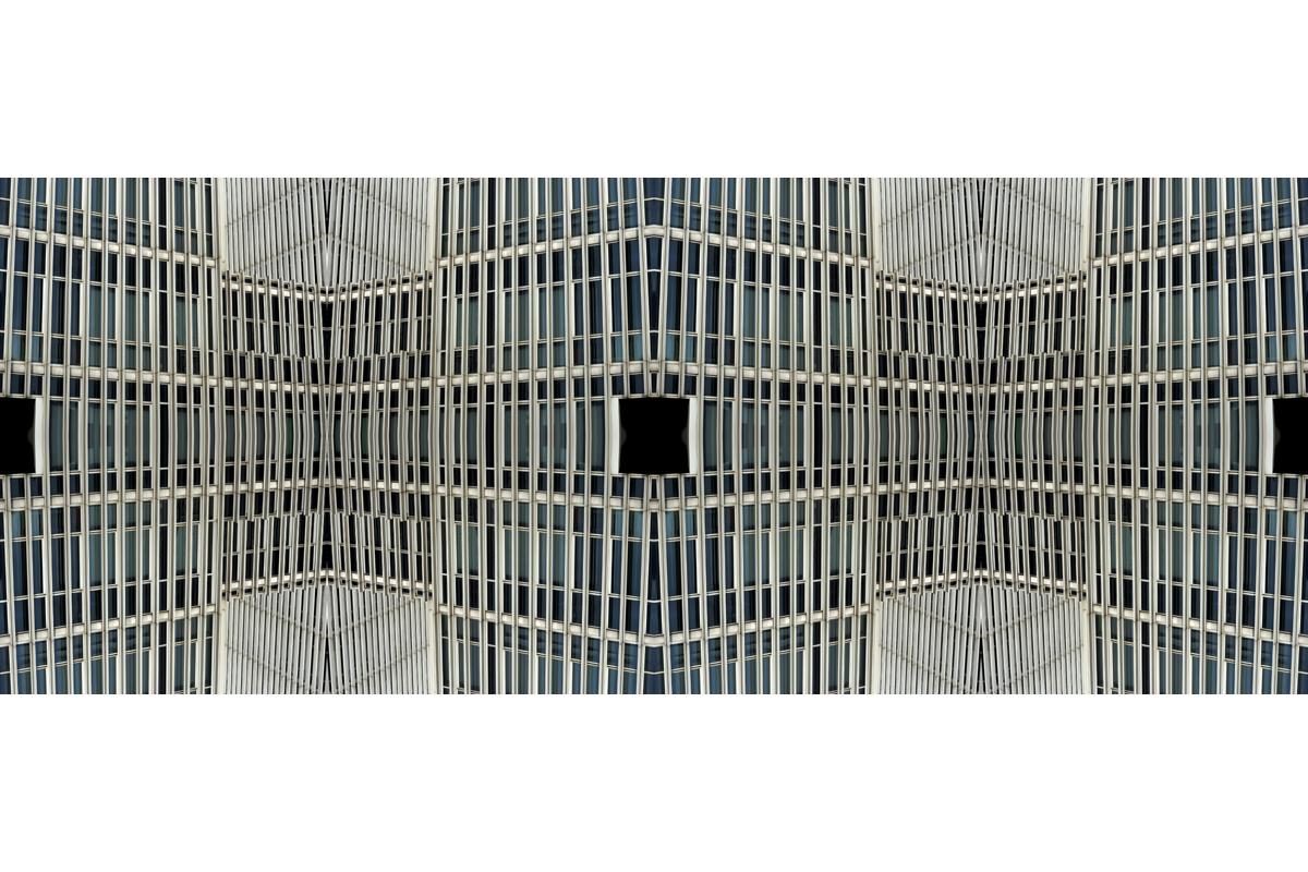 """""""Rational Construction & black holes"""" - 55 cm x 140 cm"""