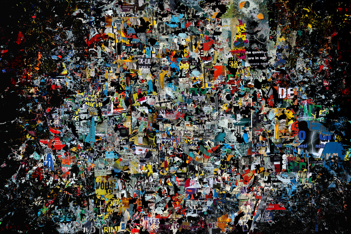 """The time that passes between then & now"" - 100 cm x 152 cm"