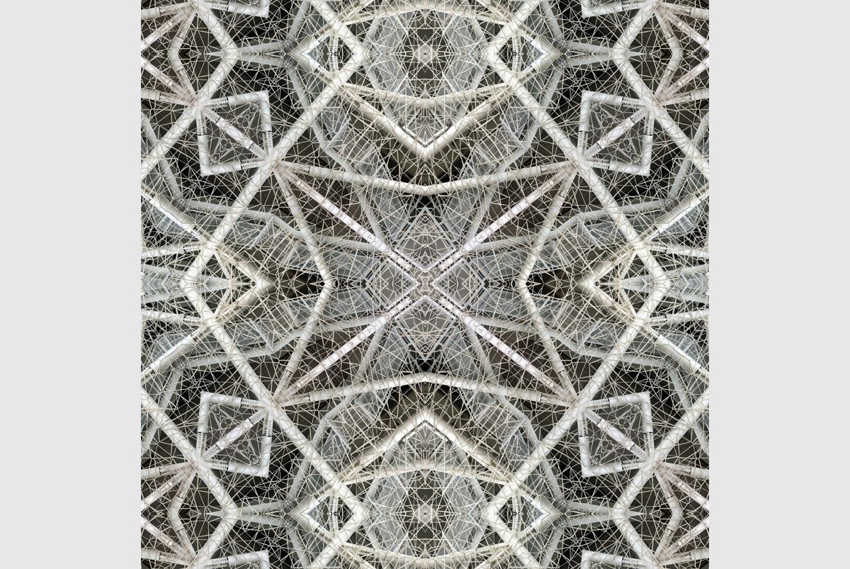 """New dynamics of architecture"" - 80 cm x 80 cm"