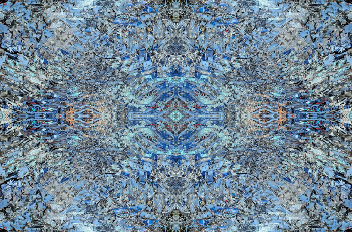 """""""Infinite Blue 02"""" - 80 cm x 120 cm"""