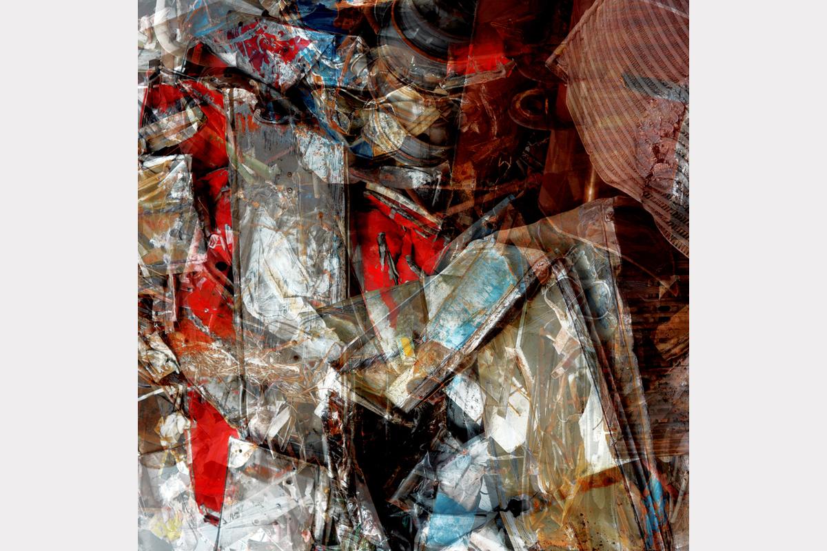 """Walking with Phoenix"" - 100 cm x 100 cm"