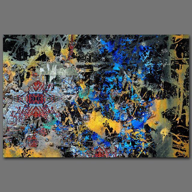 """""""Disintegration"""" - 85 cm x 130 cm - carbon inkjet print on cotton paper."""