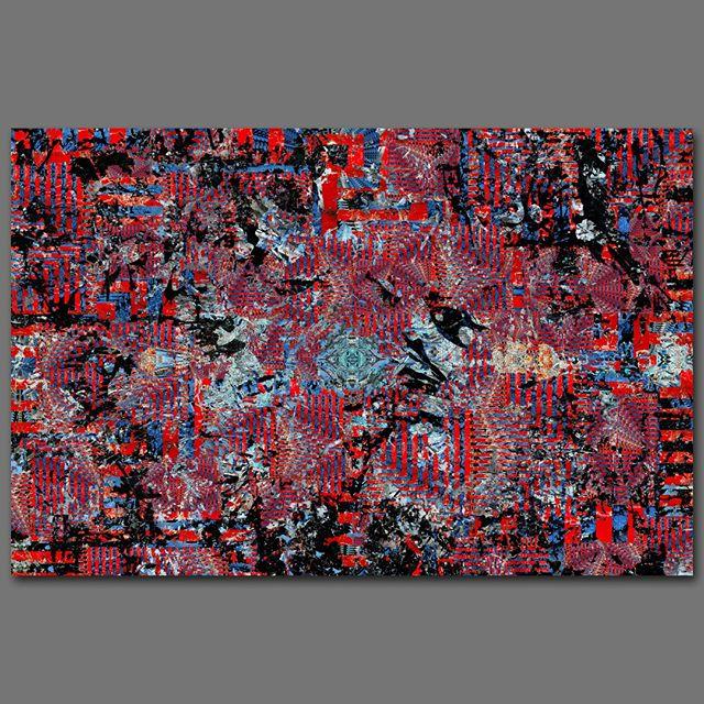 """""""Delirium"""" - 85 cm x 130 cm - Carbon inkjet print on cotton paper."""
