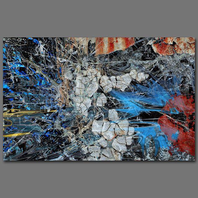 """Nebulous"" - 90 cm x 140 cm - carbon inkjet print on cotton paper"
