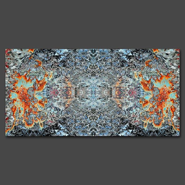 """""""On the fourth  day..."""" - 100 cm x 200 cm - carbon inkjet print on cotton paper - swipe for details."""