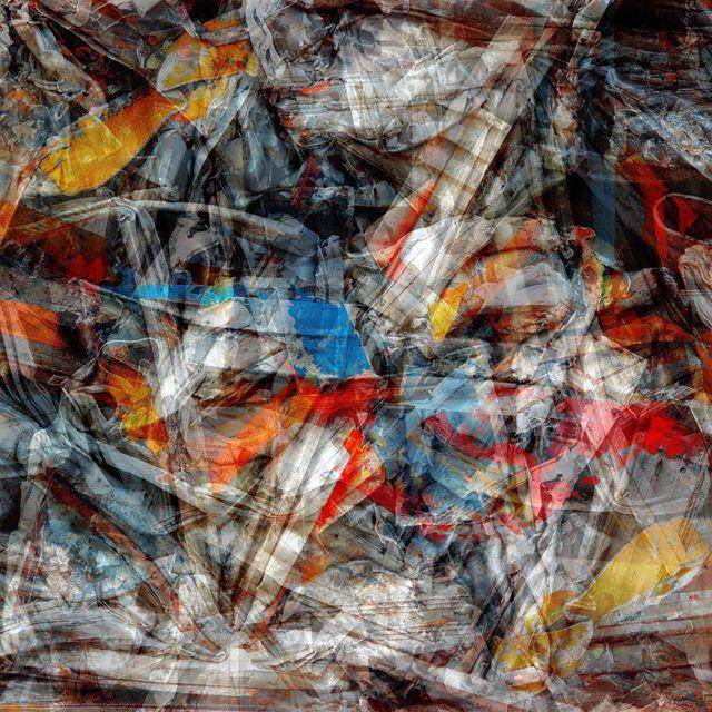 """Dynamics of horse racing"" - 100 cm x 100 cm - carbon inkjet print on cotton paper."