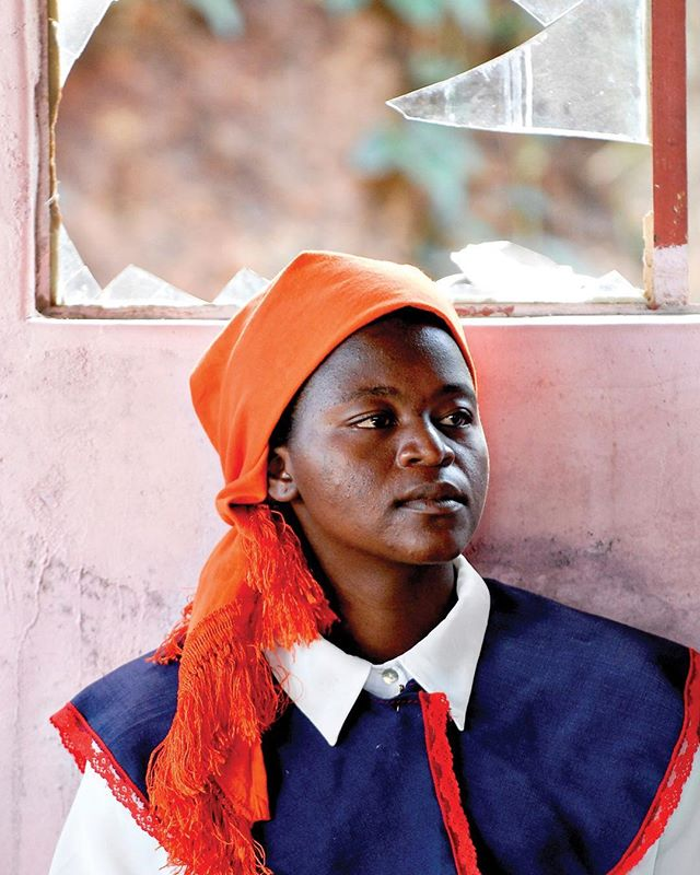 "A choir member from an amaZioni church in Mozambique waits for the next opportunity to stand and sing during a service in Swaziland. This Mozambican congregation was visiting a Swazi congregation for fellowship.⠀ -⠀ Because of fear, many amaZioni rely heavily on traditional African religious practices. Always present is the question whether or not the ancestors are pleased with them, so fear dominates much of their mindset. Focusing on pleasing the ancestors with their present actions, they also seek the counsel of the ancestors for future decisions. Fear is so strong in Africans' minds that it is difficult for them to leave behind witchcraft 100%. If prayers work, fine. If not, it is off to the witchdoctor for muti (siSwati for ""medicine"").⠀ -⠀ But the impact of Bible teaching training on the amaZioni church is unquestionable. One pastor told said that before he received this Bible training he was pastoring a congregation of people--driving a bus and not knowing where he was going. Now that he has received training and has come to faith in Jesus Christ, he knows where to lead his church and knows the truth that he must preach.⠀ -⠀ #portraitsociety #portrait_planet #majestic_people #people_infinity_ #photo_storee_people #photojournalist⠀ #photodoucumentary #reportagespotlight #ngostorytelling #ngo #ngophotographers #ngophotography #nonprofitorganization #nonprofitwork #portrait_collective #portraitsfromtheworld #thegreatcommission #greatcommission #communityservice #missions #seekhimfirst #injesusname #outreach #missionstories #journalist #reporter #journalismmatters #liveauthentic #exploreyourworld #africa⠀ ⠀"