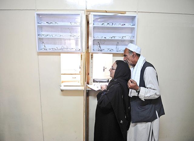 "After receiving a prescription for a new pair of glasses, this Afghan woman chooses a pair of frames. The NOOR eye care program provides the majority of eye care within the country.⠀ -⠀ NOOR means ""light"". And doctors and healthcare workers throughout the country work to bringing light to those who live in the darkness of preventable blindness.⠀ -⠀ #ngostorytelling #ngophotographers #ngophotography #impact #helpothers #missions #communityservice #light #thegreatcommission #connected #medicalwork #dogood #dogoodwork #folksouls #compassion #loveothers #givehope #helpthoseinneed #preventblindness #ngo #makingadifference #journalist #missionstories #reporter #nonprofitwork #nonprofitorganization #liveauthentic #alifealive #folkgood #forgeyourownpath"