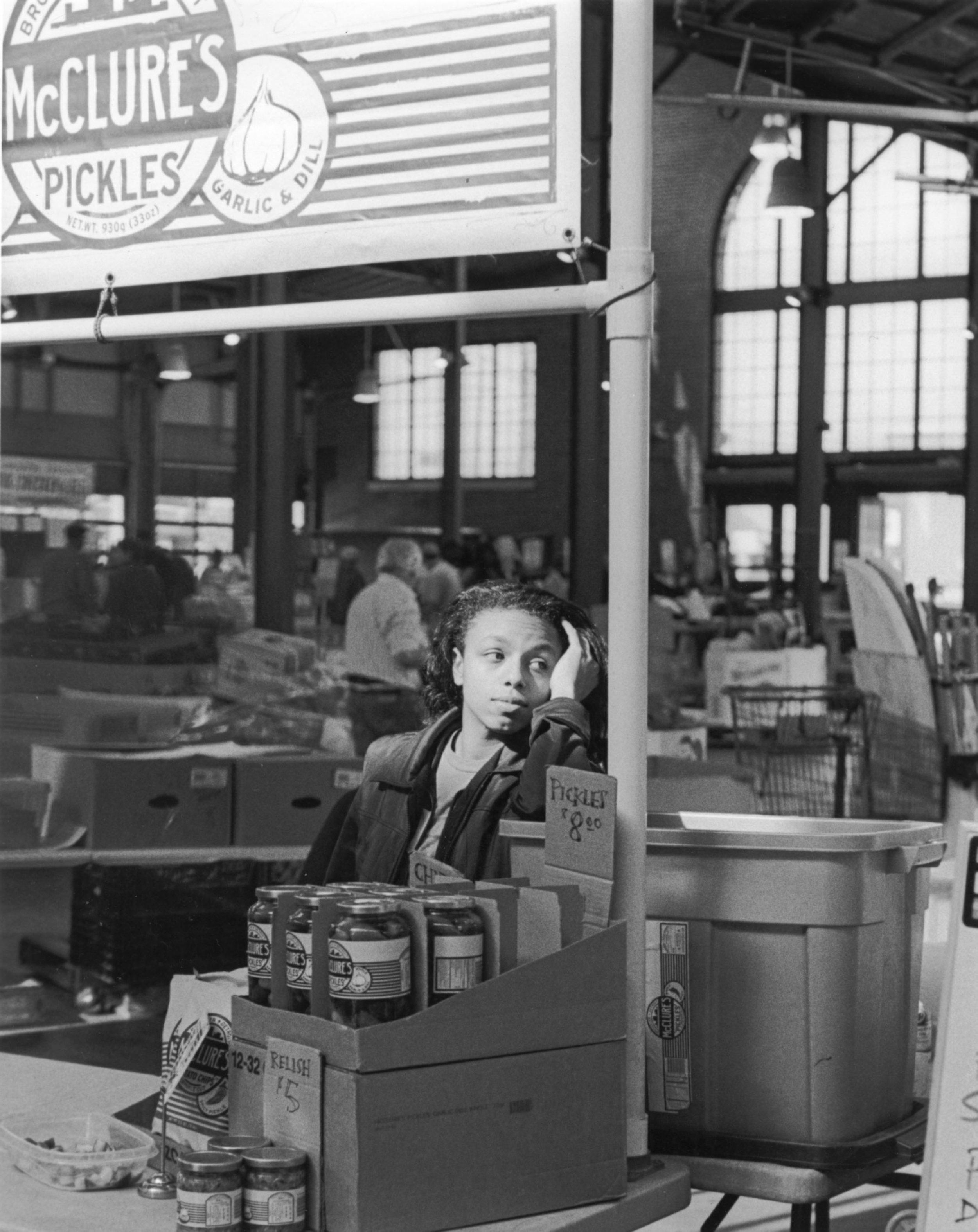 McClure's Pickle Girl - Eastern Market, Detroit MI
