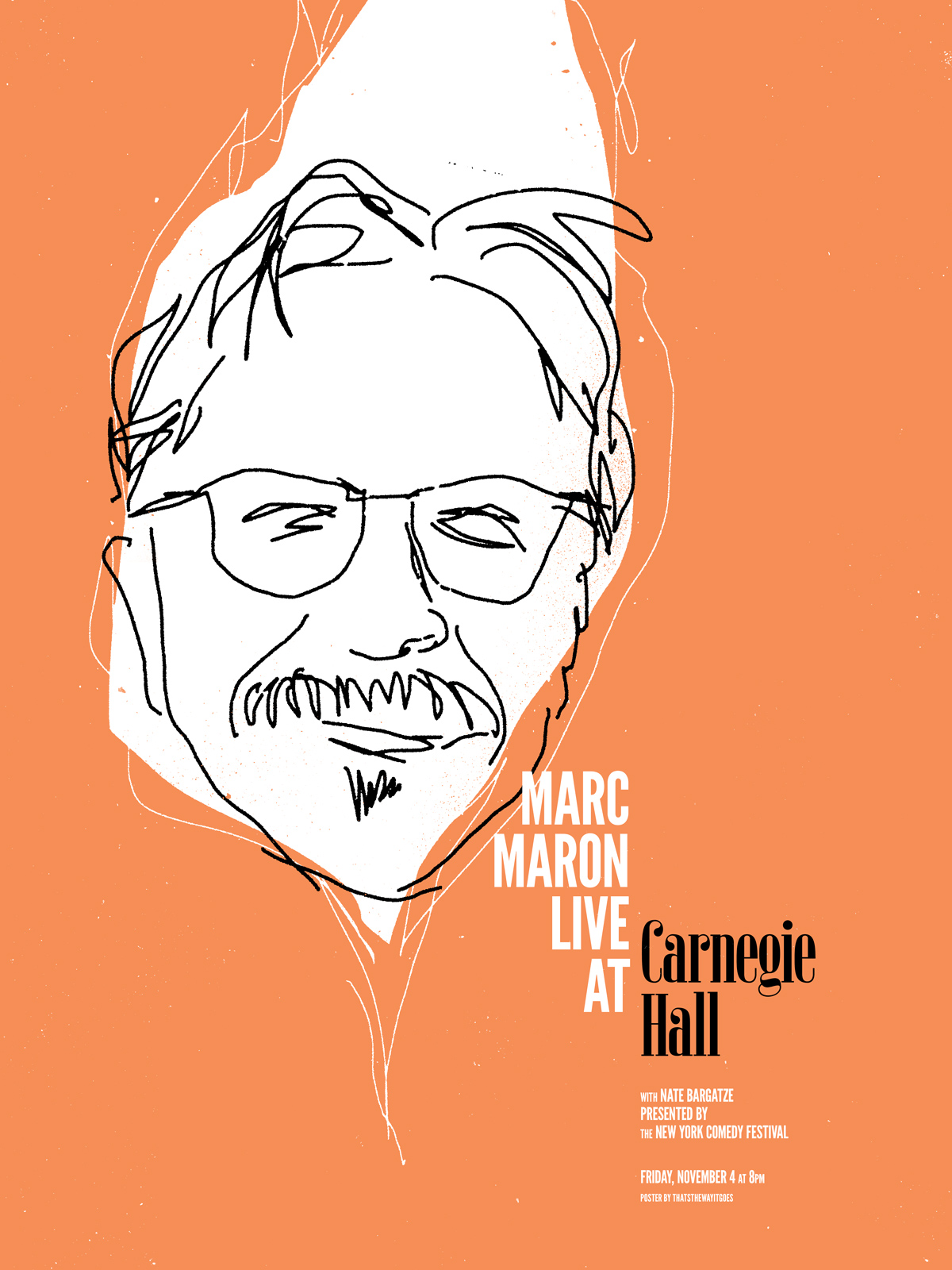 Marc Maron - Carnegie Hall