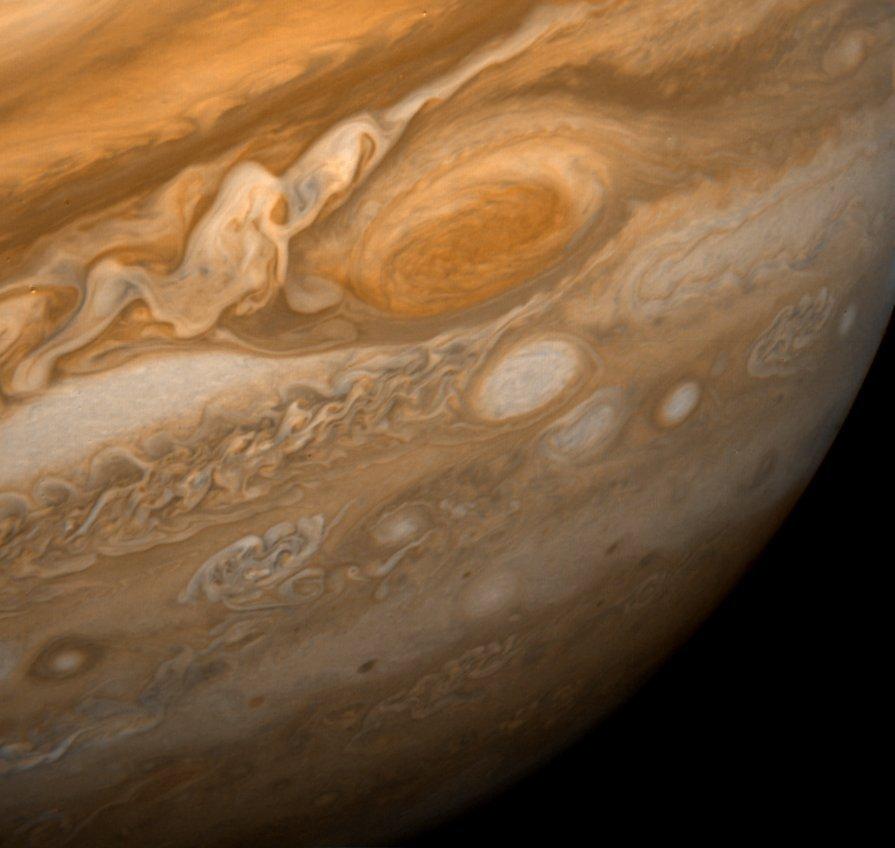Jupiter Great Red Spot | Image Credit:  NASA/JPL