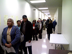 Early voting line part 2   Image Credit:  Chutney