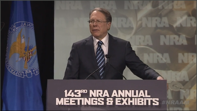 Screen Shot from  NRA.org