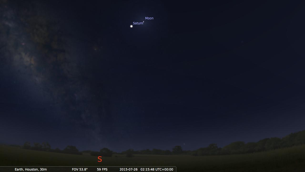 screenshot from Stellarium