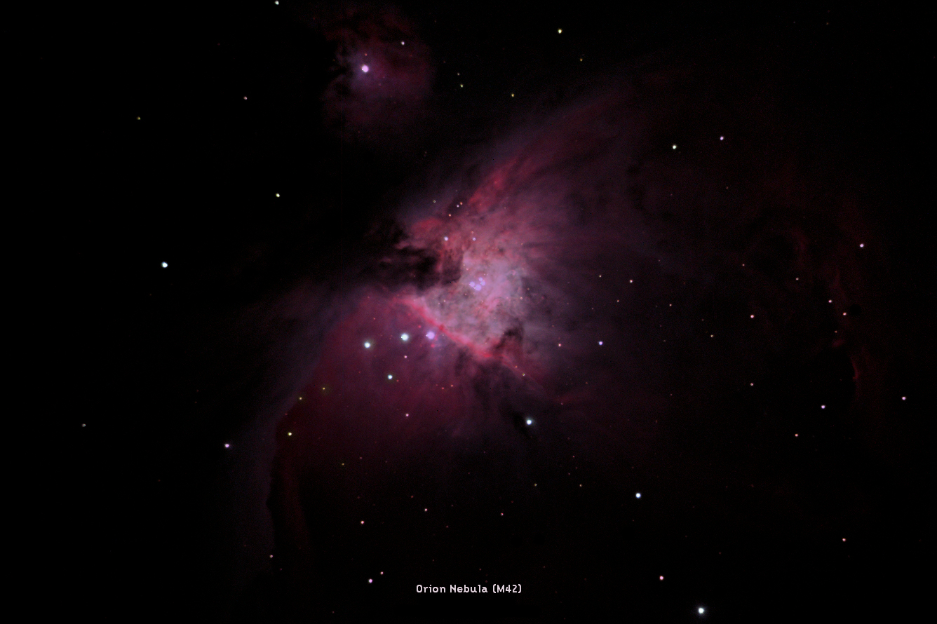 Image Credit: Adam Brown, The Orion Nebula