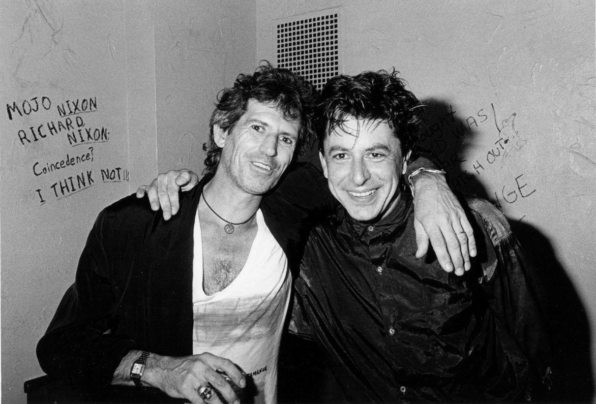 Joe and Keith Richards