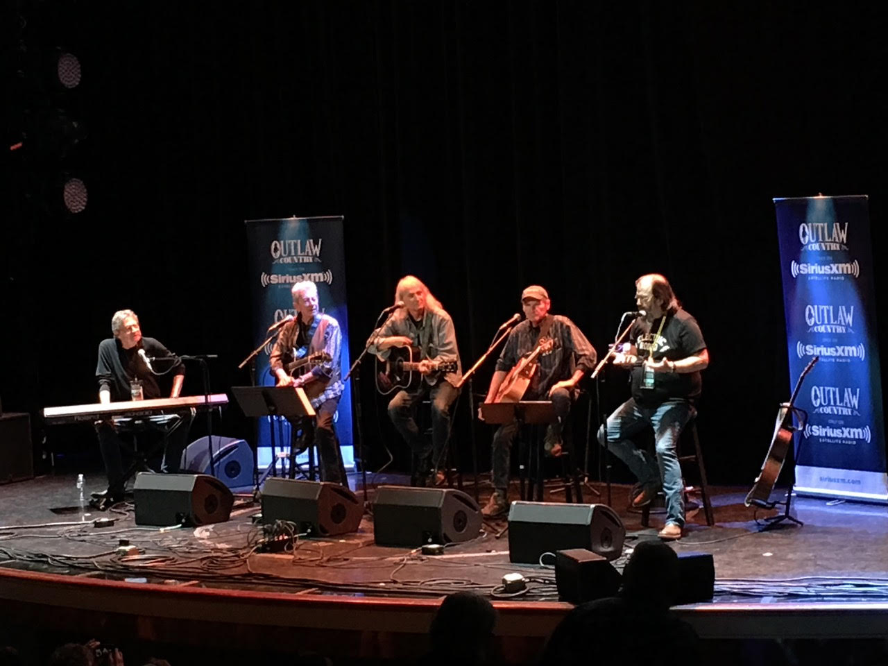 The Flatlanders, Terry Allen and Steve Earle, Outlaw Country Music Cruise 2019