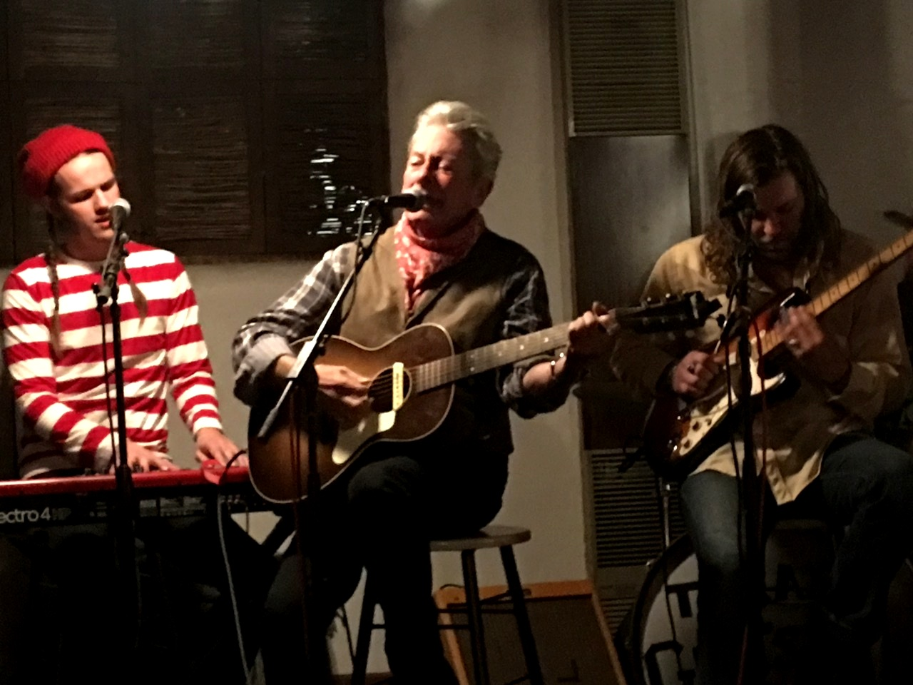 Joe Ely, The Texas Gentlemen. El Rey Hotel, Santa Fe NM • Dec. 30, 2018