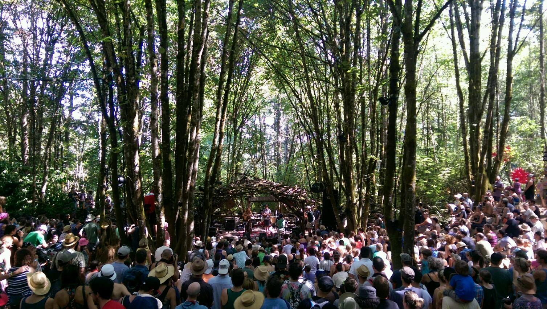 Woods Stage caption!
