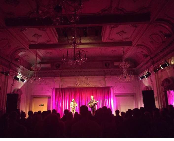 Show at Bush Hall in London! Chendeliers galore!