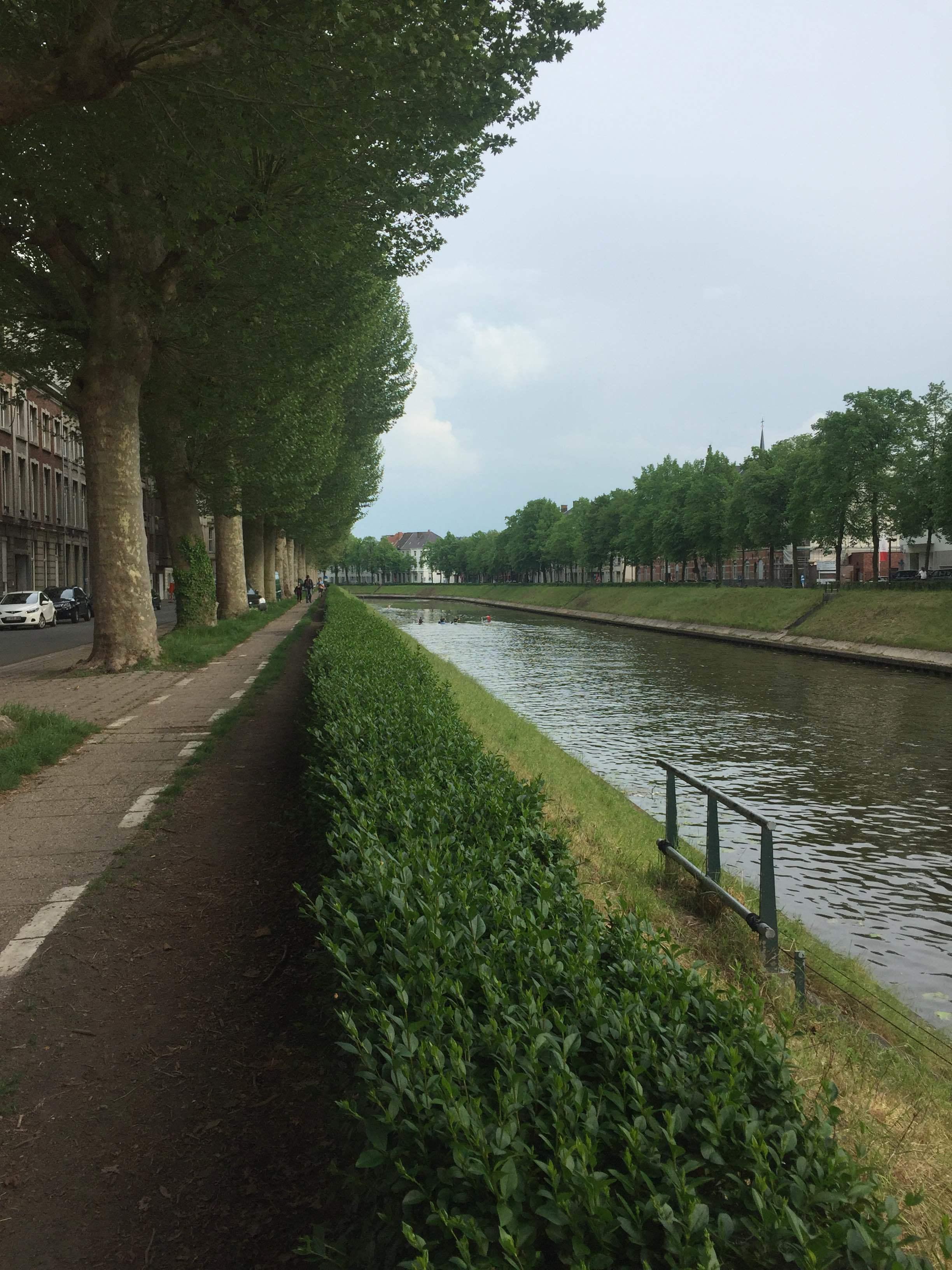 #tourrun in Ghent, Belgium