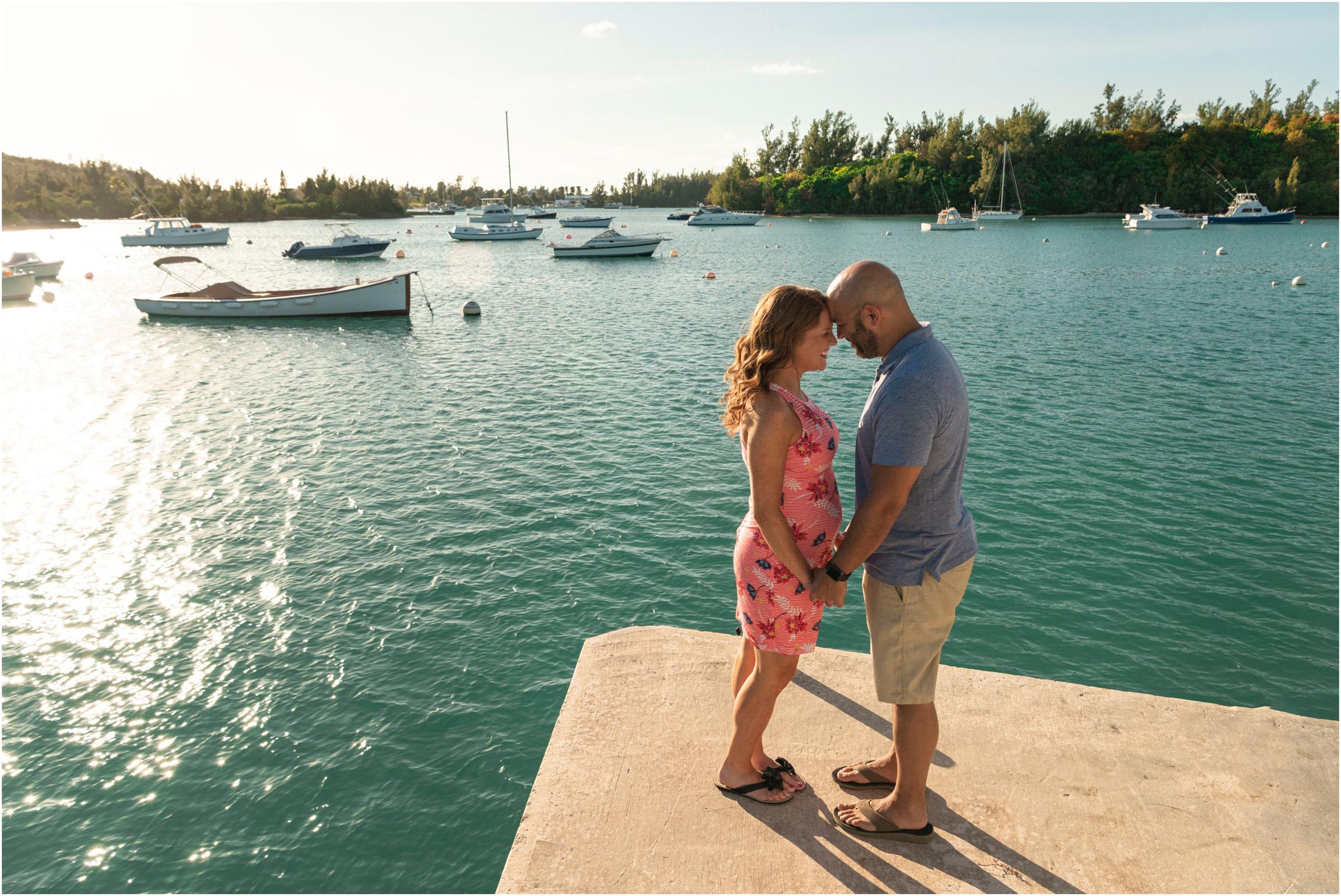 ©FianderFoto_Bermuda Maternity Photographer_Elys Harbour_Ft Scaur_Airbnb_Victoria_Mike_005.jpg