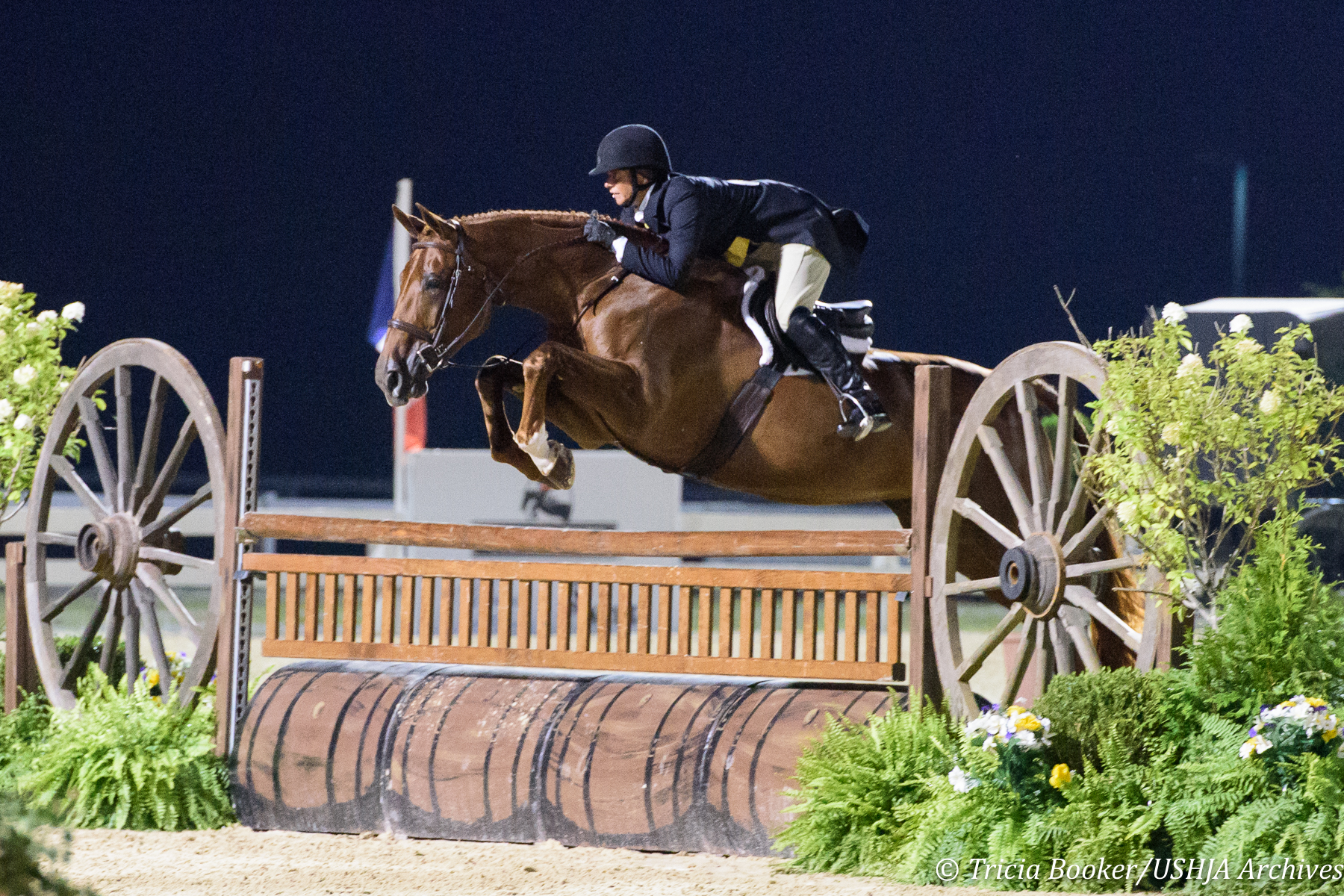 Jennifer Alfano was invited to compete in the U.S. Open at the Central Park Horse Show