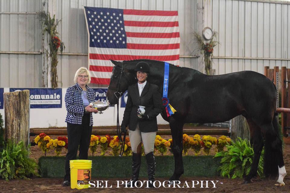 Grand Champions Jennifer Alfano and Candid