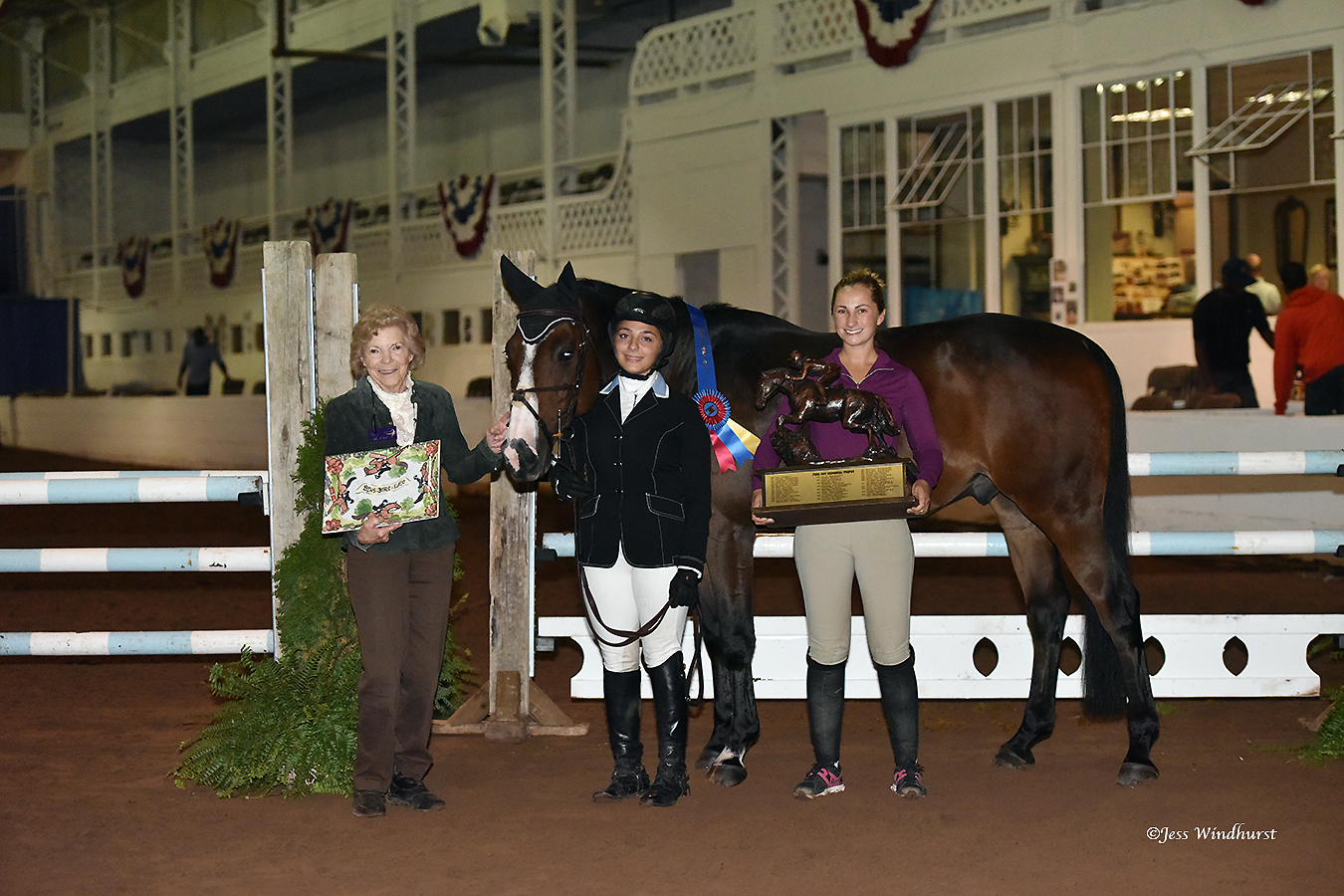 Paige Kouimanis and Lexus earned the Grand Jumper Championship.
