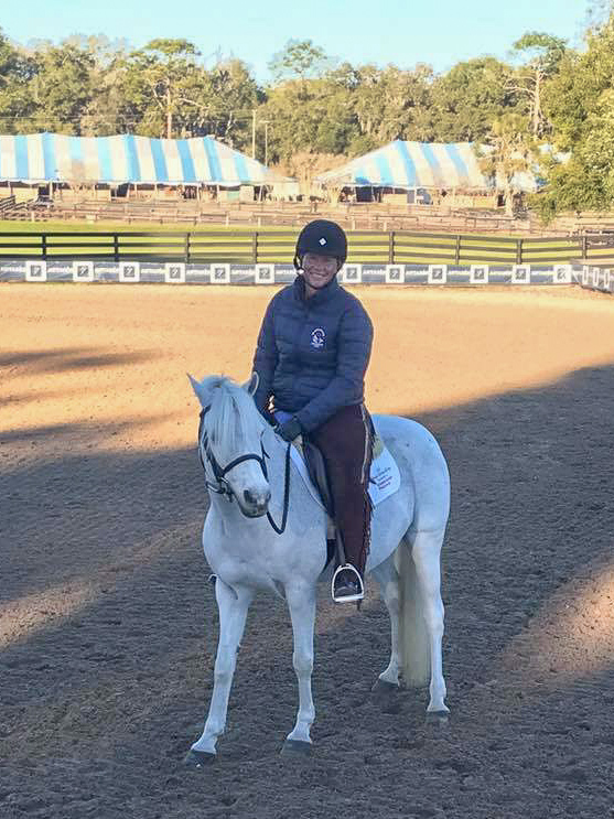 Jennifer Alfano has returned to the saddle!