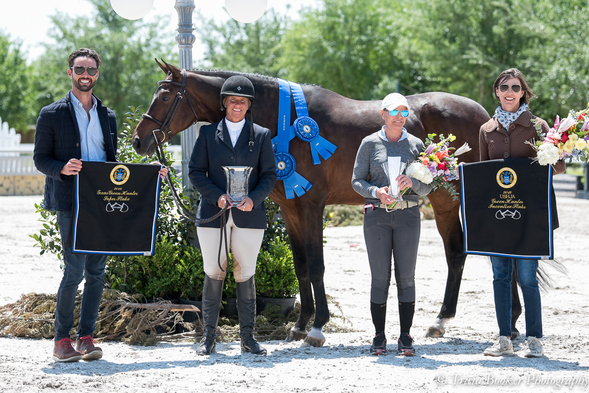 Kathy Chiaf's Kindred and Jennifer Alfano won the Texas Super Stake and the USHJA Green Incentive during Week 3.