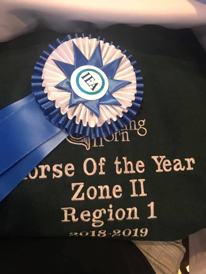 Region 1 voted Cocoa IEA horse of the year!
