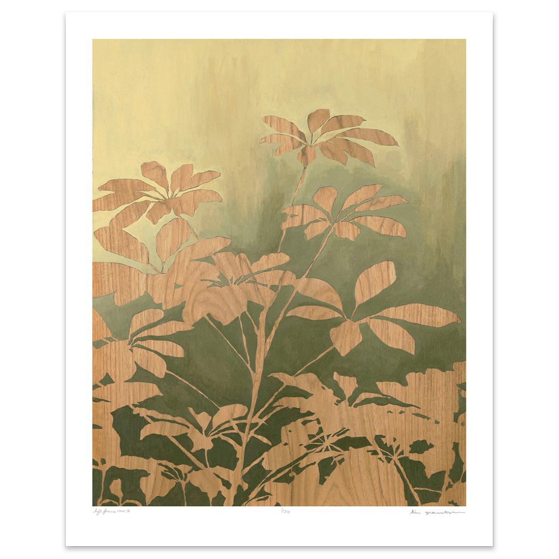 Life Forms No. 3 - 8 x 10 botanical print